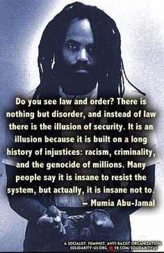 Black Lives Matter All Lives Matter Mumia Abu Jamal, Black History Facts, Power To The People, Truth Hurts, African American History, In This World, Like4like, Life Quotes, Knowledge