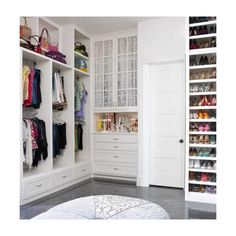 Home Inspiration 32 Beautiful and Luxurious Walk-In Closet Designs ❤ liked on Polyvore