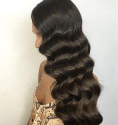 Soft, Glossy Finger Waves - Natalie Anne Hair