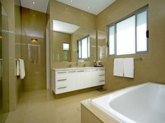 set in shower next to cabinet - might work in our space