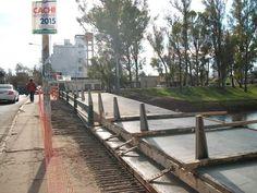 #ObrasPúblicas > Seguimos con la remodelación de #Puente Merced- J. B. Justo y realizando obras complementarias