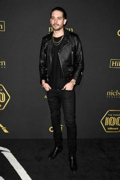 G-Eazy at Billboard Power 100 - Red Carpet in February 2017...