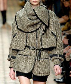 Veronique Leroy tweed jacket.