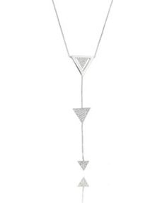 colar dryzun inspired de triangulos geometrico semi joias