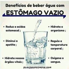 Benefícios de beber água com estômago vazio! Sugar Detox Plan, Weight Loss Tea, Easy Diets, Natural Detox, Keeping Healthy, Herbalife, Science And Nature, Stay Fit, Health Fitness