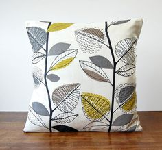16 / 18 inch decorative pillow cover grey light by LittleJoobieBoo