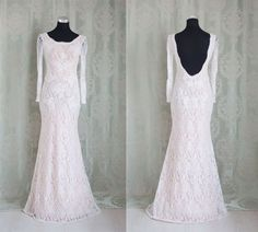Sexy Open Black Prom Dress,A-line Prom Dress , O-Neck Long Sleeves Lace Prom Dress