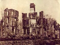 middleton plantation charleston sc | Middleton Place after the Civil War but before the Earthquake of 1886