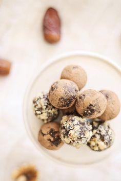 Chocolate Date Truffles :: Holiday Recipe - The TomKat Studio