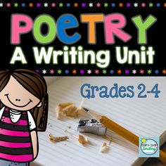 Best Poetry Writing Unit-your students will leave this unit as reflective poets- includes writing samples, posters, planning sheets, writing papers and publishing papers