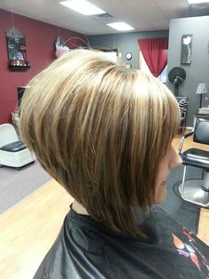 Cut, color and style by kayla #swingbob #blonde #brown #ilovehair