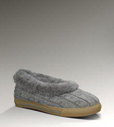Ugg Outlet Rylan Knit Grey Slippers 957401