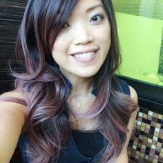 """Photo of Guy Tang - """"smoked Ash on ombre on Asian hair by Guy Tang"""" - West Hollywood, CA Blue Tips Hair, Hair Color For Black Hair, Love Hair, Brown Hair, Ash Brown, Hair Colour, Ombre Hair, Balayage Hair, Ash Ombre"""