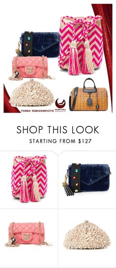 """""""bags.."""" by kristen-stewart-2989 ❤ liked on Polyvore featuring Guanábana, Edie Parker, Santi and MCM"""