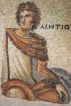 Parthenope e Metiokhos Mosaico.