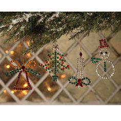 Grandma's Christmas Pin Ornaments | Bethany Lowe