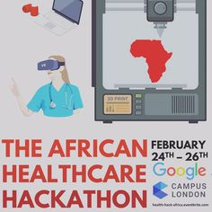 Calling all #Healthcare and #Africa lovers!  Health-hack-africa.eventbrite.com  The 2017 #African Healthcare #Challenge is an intense fun and high energy weekend #event. People form teams to brainstorm and develop solutions to the problems of real-life #organisations and #initiatives doing #business in Africa. At the end of the weekend the team that presents the best solution wins the competition. Anyone with a passion for creating change can take part!  The Challenge is a great and really…