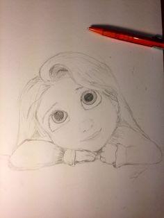 Draw  enredados disney