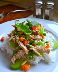 Use gluten-free teriyaki sauce. SLOW COOKER TERIYAKI CHICKEN - Rachel Schultz