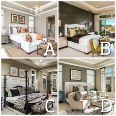 Which bedroom passes the TEST to be your favorite place to REST?!