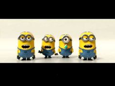 Minions Banana Song-Fast, Faster, Fastest :) (HQ) HAHA SO FUNNY!! at first you don't realize that it gets faster but then you do!! SO FUNNY!!!!!!!!!!