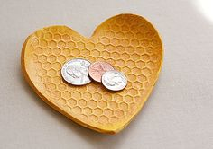 Zach really wants to make this. He loves both the heart and the honeycomb shape