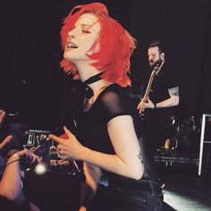 Hayley Williams of Paramore Hilton Hotel 2015