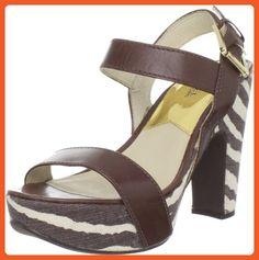 Michael Michael Kors Women's Ivana Platform Sandal,Mocha,9.5 M US - Sandals for women (*Amazon Partner-Link)