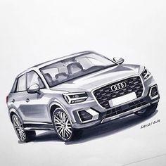 Audi Q2 by Rebecca Weiss