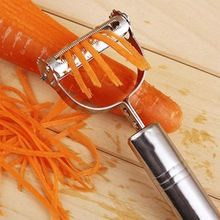 Multifunctional 360 Degree Rotary Potato Peeler Slicer Vegetable Cutter Fruit Melon Grater Kitchen Accessories Gadget 3 Blades(China)