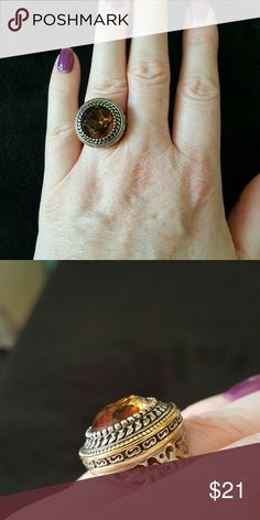 """""""Mink"""" ring Premier Designs gold and silver ring Premier Designs Jewelry Rings"""