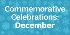 Who's excited for the holiday season? There's lots to celebrate next month, including some fun commemorative days like Wright Brothers Day and National Brownie Day. Head over to our blog and see how your and your troop can take part in these awesome celebrations!