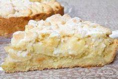 crumbled apples and mascarpone Italian Desserts, Vegan Desserts, Italian Recipes, Italian Dishes, Sweet Recipes, Cake Recipes, Dessert Recipes, Torte Cake, Sweet Cakes