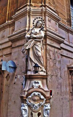 Santuario calle de Nuestra Señora de los Dolores en Senglea, Malta