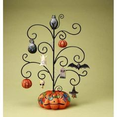 Halloween Tree With Ornaments ~~ Jim Shore