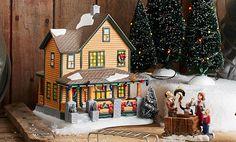 A Christmas Story Village Ralphie's House