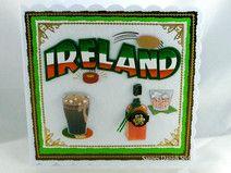 Grußkarte für Irlandfans.