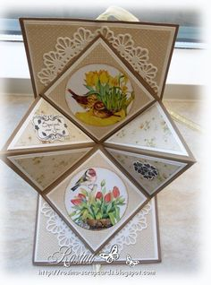 Best 12 Birthday gatefold card by cards and paper crafts at splitcoaststampers by tatis ayala – Artofit – SkillOfKing. Fancy Fold Cards, Folded Cards, Joy Fold Card, Birthday Card Design, Birthday Cards, Diy Birthday, Happy Birthday, Interactive Cards, Shaped Cards
