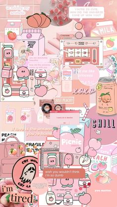 Image uploaded by ✿. Find images and videos about pink, wallpaper and background on We Heart It - the app to get lost in what you love. Iphone Wallpaper Themes, Iphone Wallpaper Cat, Wallpaper Doodle, Hype Wallpaper, Cover Wallpaper, Soft Wallpaper, Cute Wallpaper For Phone, Cute Patterns Wallpaper, Aesthetic Pastel Wallpaper