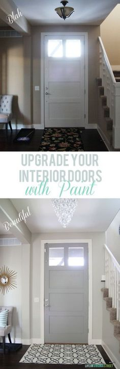 1000 ideas about grey interior doors on pinterest. Black Bedroom Furniture Sets. Home Design Ideas