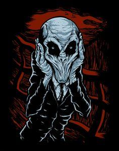 A Scream of Silence by Jeffro   www.TeeTee.eu