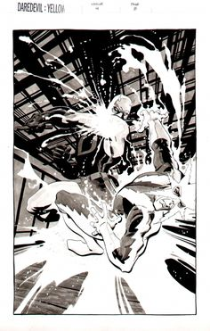Daredevil Vs. Electro by Tim Sale