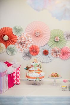 Vintage Spring Baby Shower | photos by Kelly Lynn James | Camille Styles