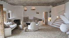 """DAzulterrA: A STONE HOUSE NEAR THE SEA The Atmosphere in ALEXANDRE BETAK´HOUSE in Maiorca """"The house I did for myself, my family and my friends,"""""""