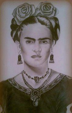 Frida Kahlo ~ Artist Oscar Aguilar