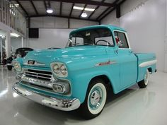 1958 CHEVROLET APACHE PICKUP, ULTRA RARE 4-SPEED MANUAL TRANSMISSION