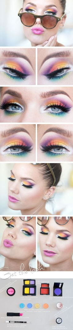 7 More Alluring Makeup Looks for Different Occasions: #7. Chic Holiday Makeup Idea