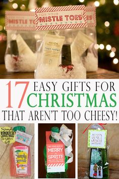 14 Best Pinterest Christmas Gifts in a Jars | Recycling Projects ...