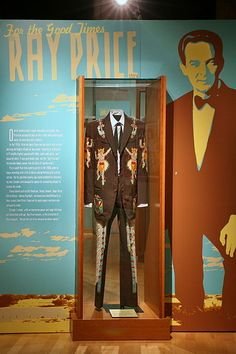 Ray Price exhibit at the Country Music Hall of Fame