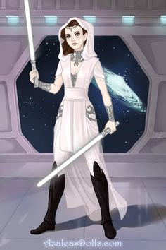 Watch out Sith, the Princess is back!! by rose-renee ~ High Fantasy Dress Up